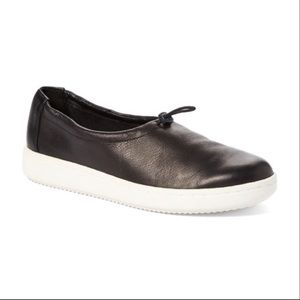 Eileen Fisher Sydney Washed Leather Sneaker Sz 8